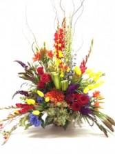 Bountiful floral sympathy