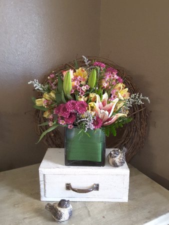 Bountiful garden Vase arrangement