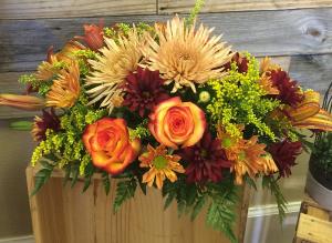 Bountiful Harvest Centerpiece in Venice, FL | ALWAYS AN OCCASION FLORIST & DECOR