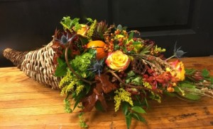 Bountiful Harvest Centerpiece  in Zionsville, IN | ZIONSVILLE FLOWER COMPANY