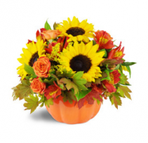 Bountiful Harvest  Fall arrangement