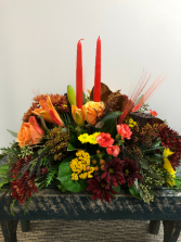 Bountiful Harvest Thanksgiving Centerpiece