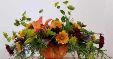 Bountiful Pumpkin Bouquet Fresh Arrangement