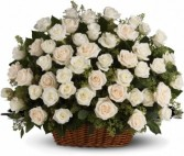 Bountiful Rose Basket T233-1A