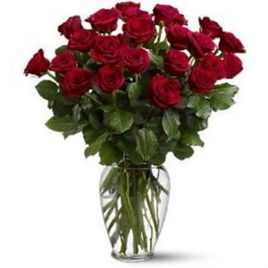 Bountiful Two Dozen Vase Arrangement in Calgary, AB | Posh Flowers Ltd