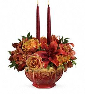 Bounty of Beauty Centerpiece in Rising Sun, MD | Perfect Petals Florist & Decor