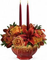 Bounty of Beauty Centerpiece Candle Centerpiece