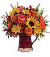 Bounty of Blooms Arrangment