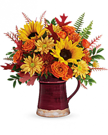 Bounty Of Blooms Floral Arrangement