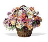 Bounty of Blooms Basket Design