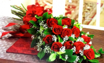 Bouquet 12 roses  Red roses or preference