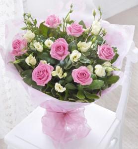 Bouquet Elizabeth Rose  Hand-tie Bouquet
