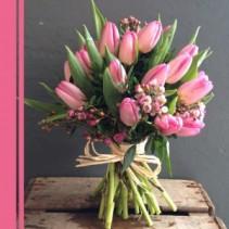 Bouquet Monochromatic Tulip  Hand-tie Bouquet