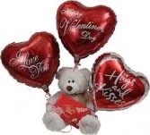 Bouquet of Balloons for Valentine's