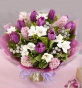 Bouquet Purple Rain Hand-tie Bouquet