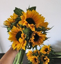 Bouquet Sunflower Hand-tie Bouquet