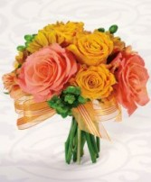 CITRUS TIME Wedding Bridal Bouquet
