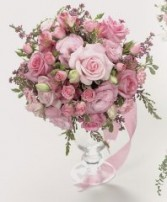 PURELY PINK Wedding Bridal Bouquet