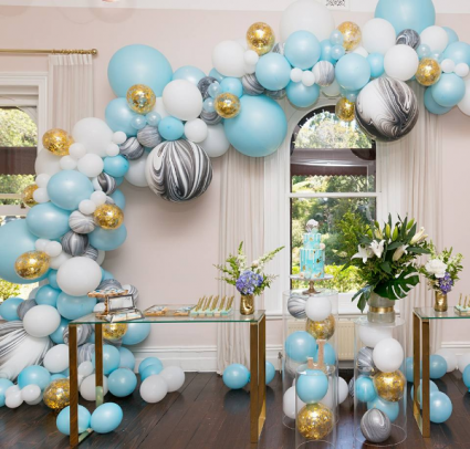 Boutique Balloons  In Collaboration with Parties 'N' More