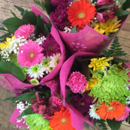 Boutique Fresh Cut Bouquet Recipe #2 Wrapped Fresh Cut Flowers
