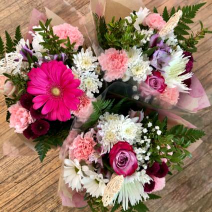 Boutique Pink and Purple Passion Bouquet Fresh cut bouquet