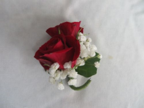 Boutonniere 2 Spray Rose Bout