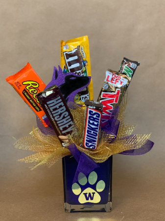 Bow Down Candy Bouquet
