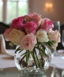 Bowl of Flowers Roses