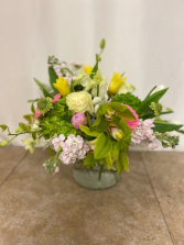 Bowl of Plenty Compact design of high end flowers