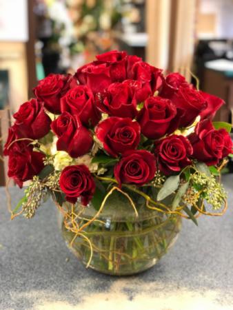 Bowl of roses Roses