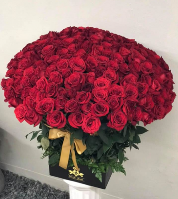 Box of 200 Roses  Box of Roses