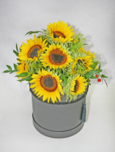 BOX OF CHEER Sunflowers