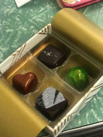 Box of Chocolate Gift Items