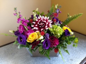 box of endless summer blooms  in Pawling, NY | PARRINO'S FLORIST
