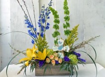 Box of Faith (Rejoice, Faith, or Love)   Fresh Arrangement