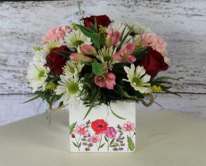 Box of Flowers Box in Stevensville, MT | WildWind Floral Design Studio
