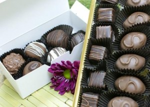 Large Box of Handmade Chocolates  in Battle Ground, WA | MAIN STREET FLORAL COMPANY