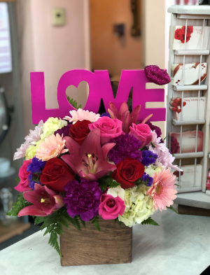 BOX of LOVE Valentines day sale! SAVE $10 use code on Banner at top of page. in Whittier, CA | Rosemantico Flowers