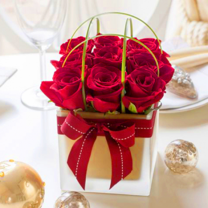 Box of Passion Red Roses