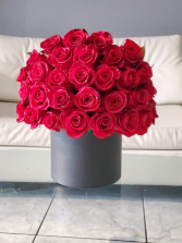 Box of Red Roses Large