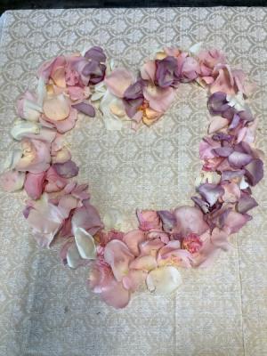 Box of Rose Petals  Box of soft blush colors roses petals in Key West, FL | Petals & Vines