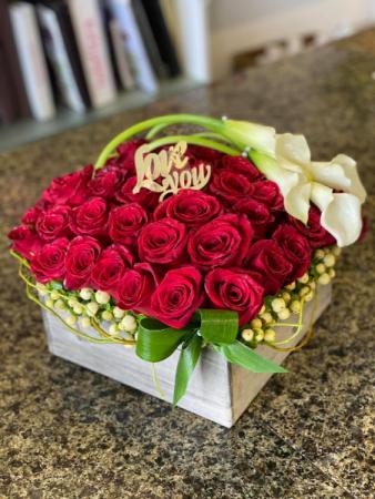 Box Of Roses  Box