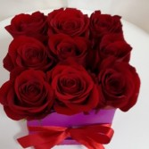 Box of Roses  Floral Arrangement