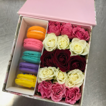 Box of Roses/Macaroons Valentines