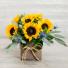 Box of Sunflowers