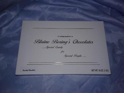 Boxed Chocolates Gift Basket