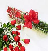 Boxed Red Dozen Valentines Day