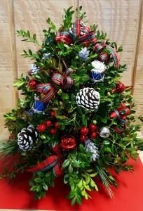 Boxwood Christmas Tree Christmas