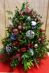 Boxwood Tree Multi colors Christmas