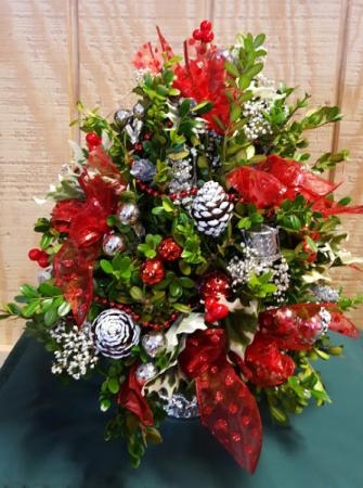Boxwood Tree Multi colors Christmas